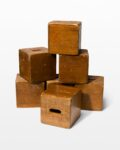 Front view thumbnail of Custer Wooden Cube Set