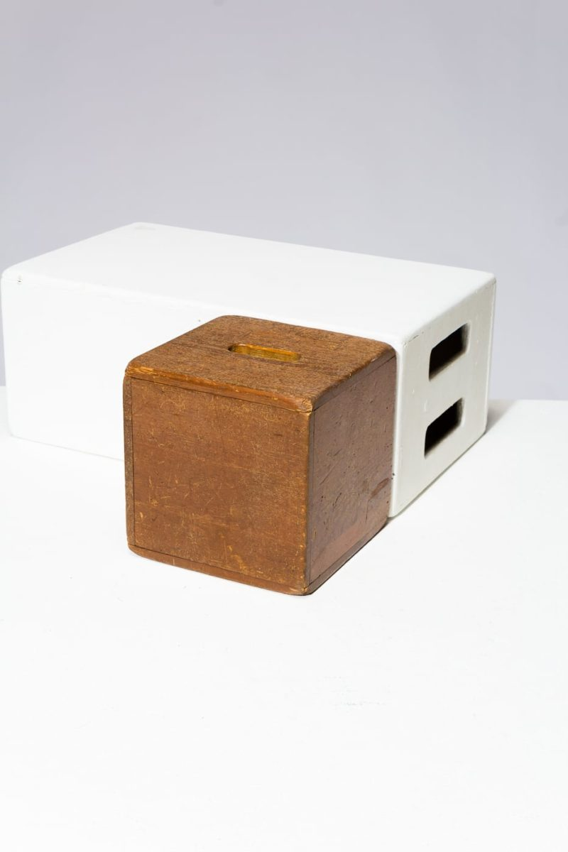 Alternate view 2 of Custer Wooden Cube