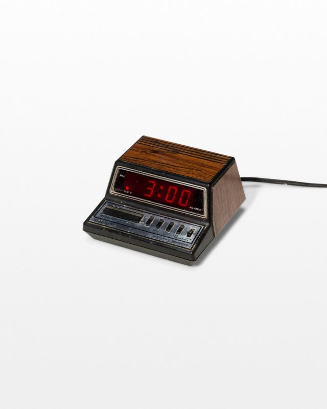 Front view of Joseph Alarm Clock