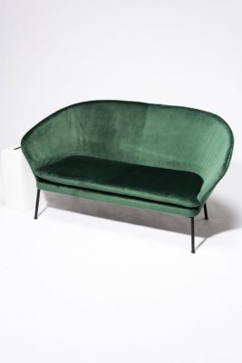 Alternate view 2 of Craighill Hunter Green Loveseat