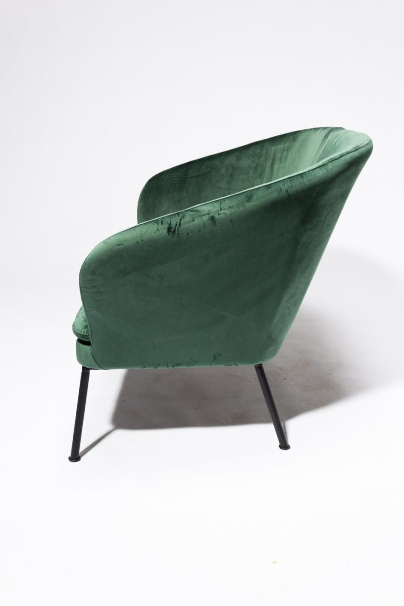 Alternate view 3 of Craighill Hunter Green Loveseat