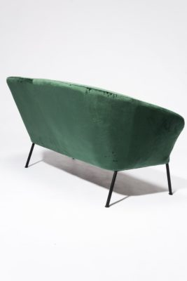 Alternate view 4 of Craighill Hunter Green Loveseat