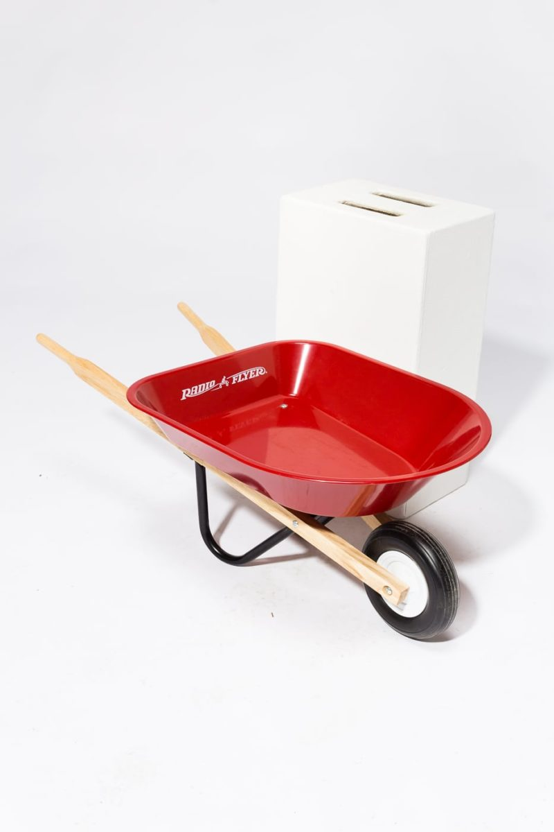 Alternate view 1 of Child's Red Wheelbarrow