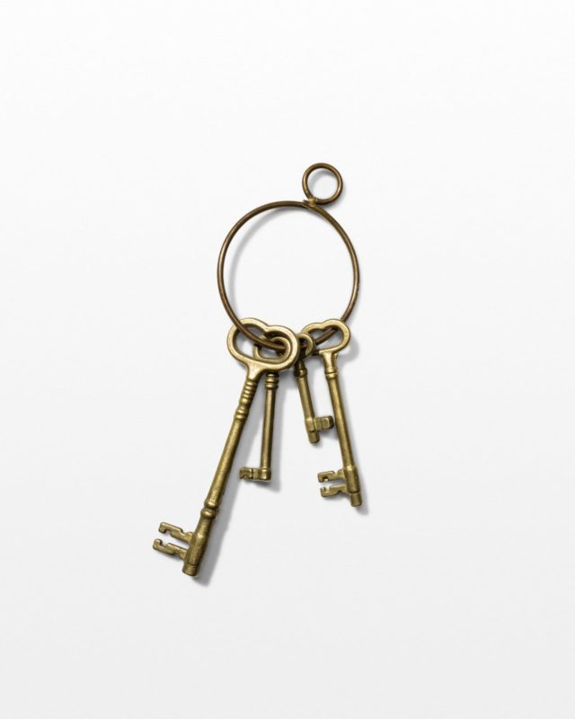 Front view of Rig Key Ring