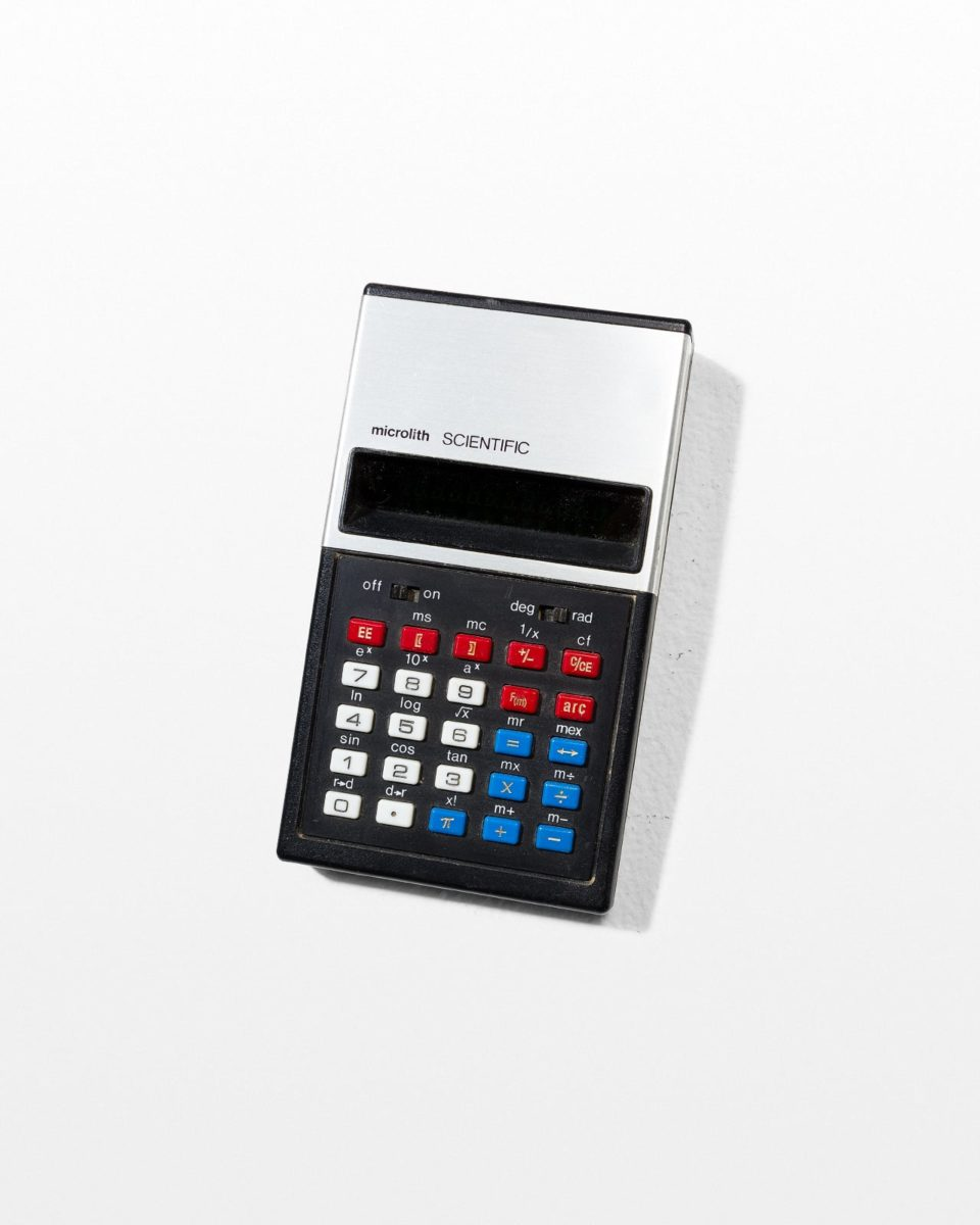Front view of Microlith Scientific Calculator