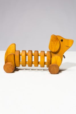 Alternate view 3 of Wiggly Wooden Dog Toy