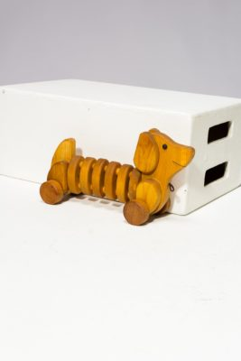Alternate view 4 of Wiggly Wooden Dog Toy