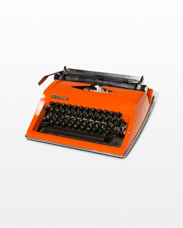 Front view of Tang Typewriter