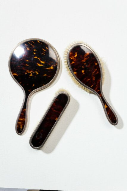 Alternate view 3 of Cicely Tortoise Shell Vanity Set