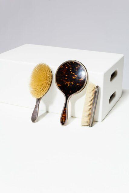 Alternate view 1 of Cicely Tortoise Shell Vanity Set