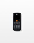 Front view thumbnail of  LG Orange KG275 Mobile Phone