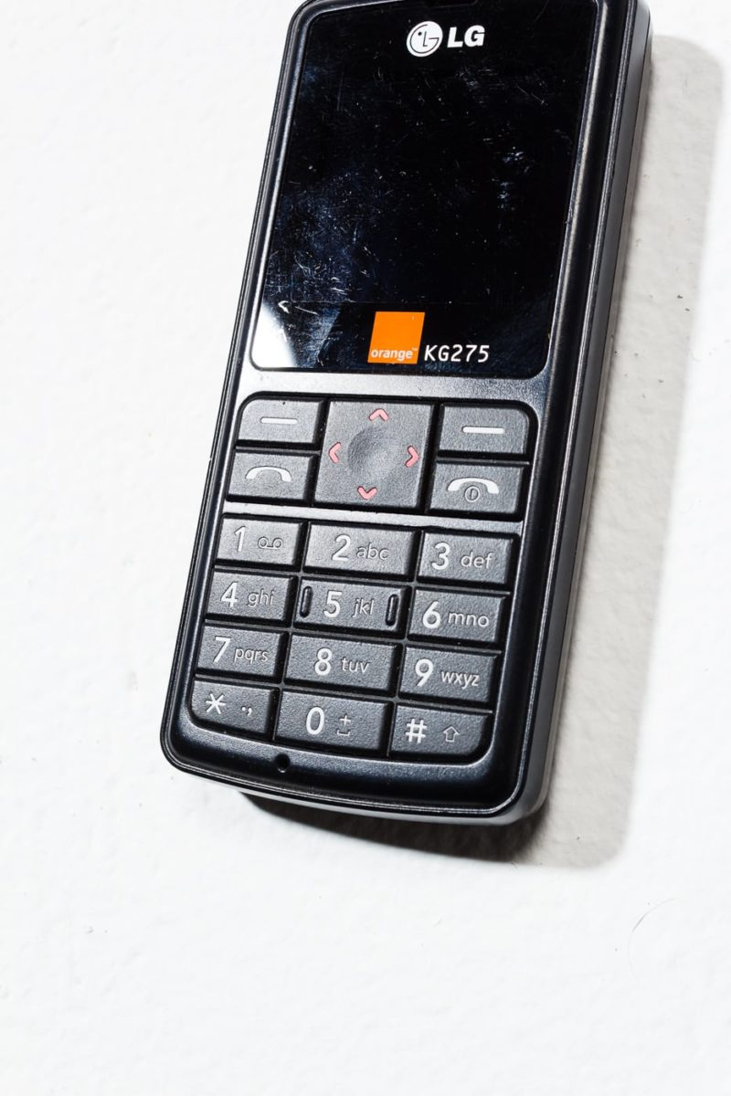 Alternate view 3 of  LG Orange KG275 Mobile Phone