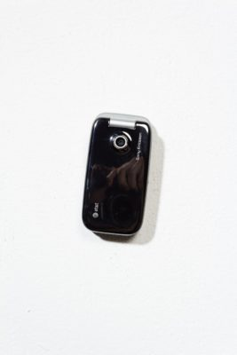 Alternate view 2 of Sony Ericsson Vintage Silver Flip Phone
