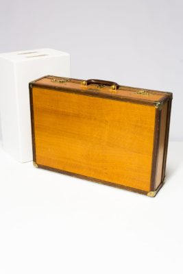 Alternate view 1 of Fletcher Wooden Luggage