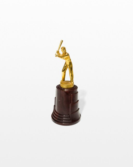 Front view of Torre Baseball Trophy