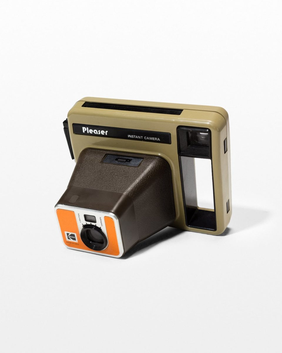 Front view of Kodak Pleaser Instant Camera