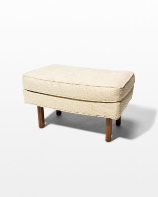 Front view of Hern Upholstered Ottoman