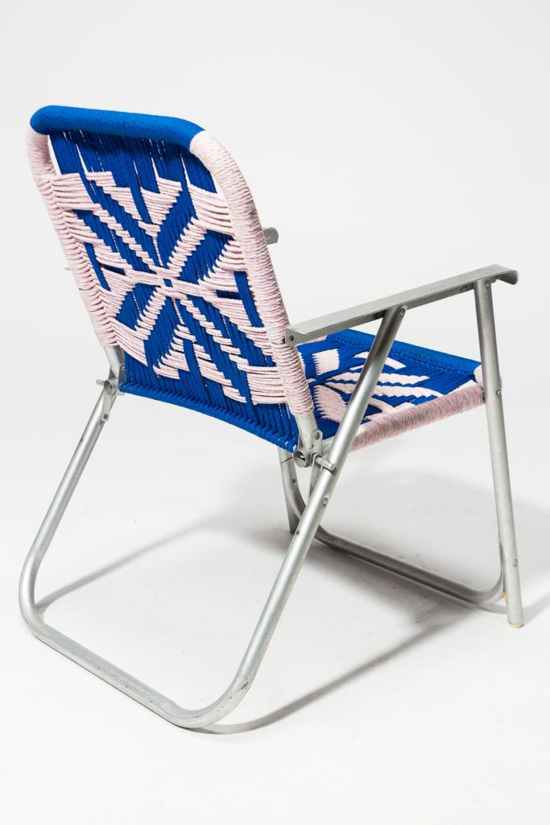 Alternate view 4 of Vail Macrame Lawn Chair
