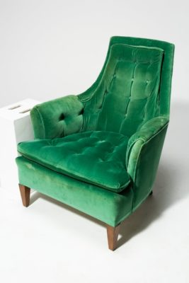 Alternate view 2 of Penny Green Velvet Armchair