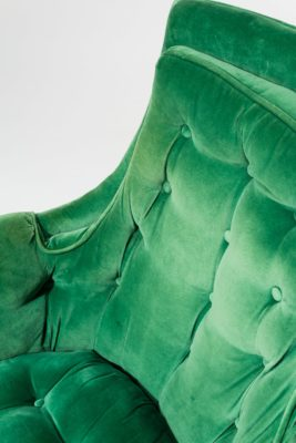 Alternate view 1 of Penny Green Velvet Armchair