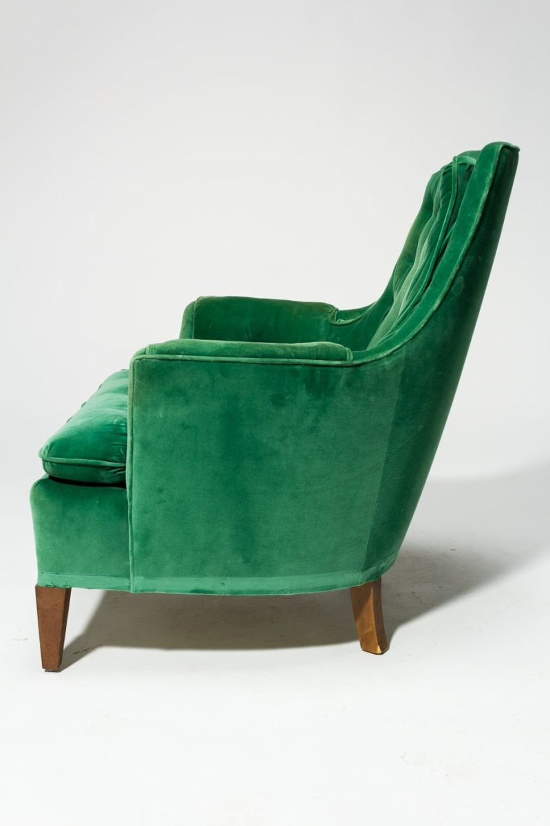 Alternate view 3 of Penny Green Velvet Armchair