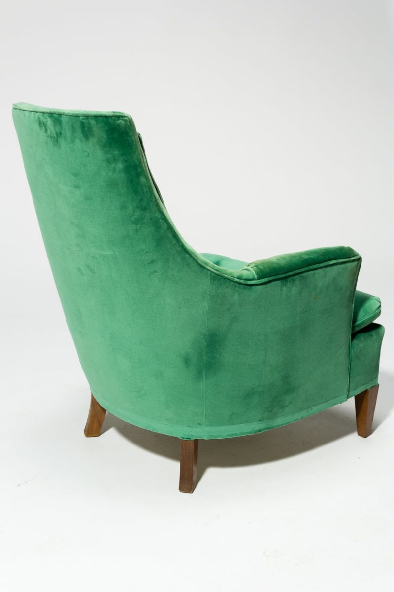 Alternate view 4 of Penny Green Velvet Armchair