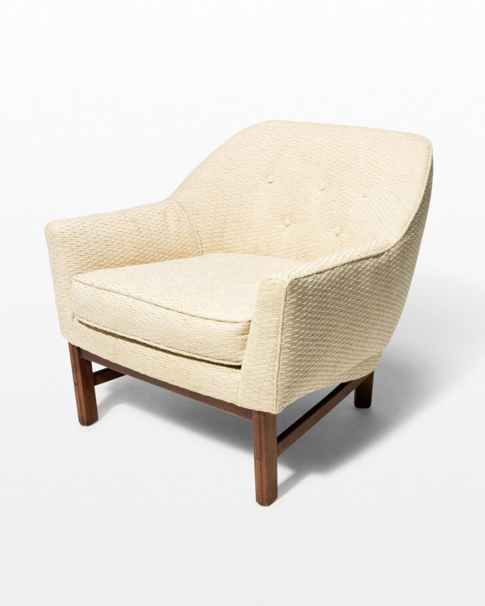 Front view of Hern Upholstered Armchair