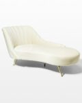 Front view thumbnail of Cardi Cream Chaise