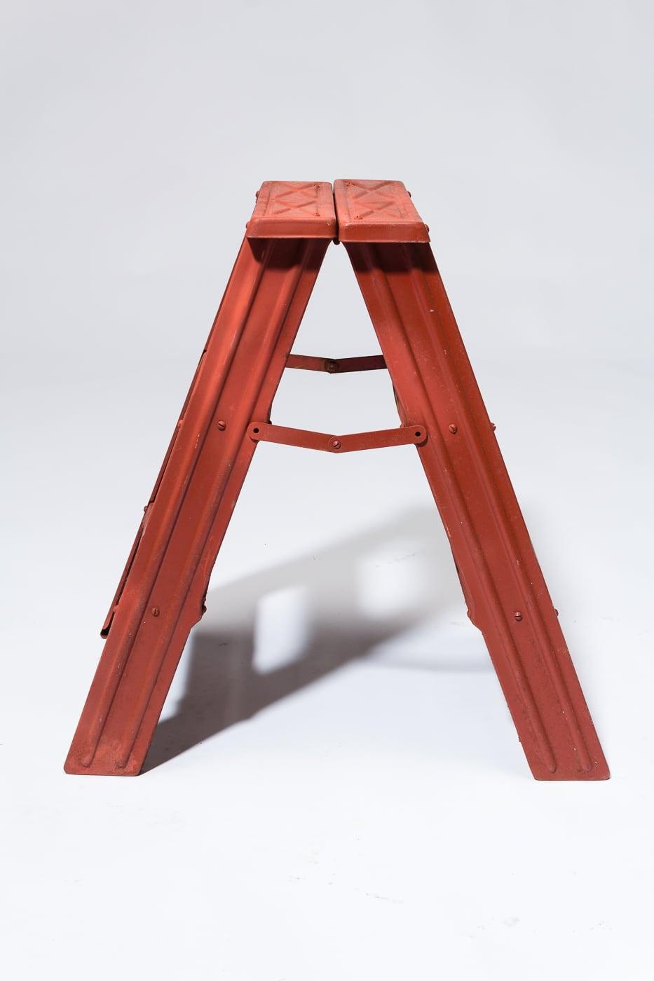 Brilliant La021 Redling Vintage A Frame Step Ladder Prop Rental Acme Ncnpc Chair Design For Home Ncnpcorg