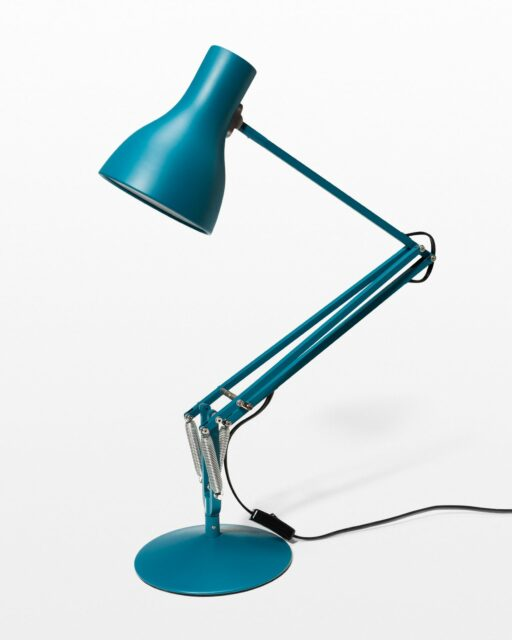 Front view of Altoona Blue Task Lamp