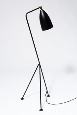 Alternate view 2 of Spur Black Grasshopper Lamp