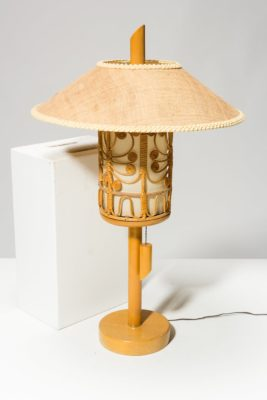 Alternate view 3 of Fritz Tiki Dome Lamp