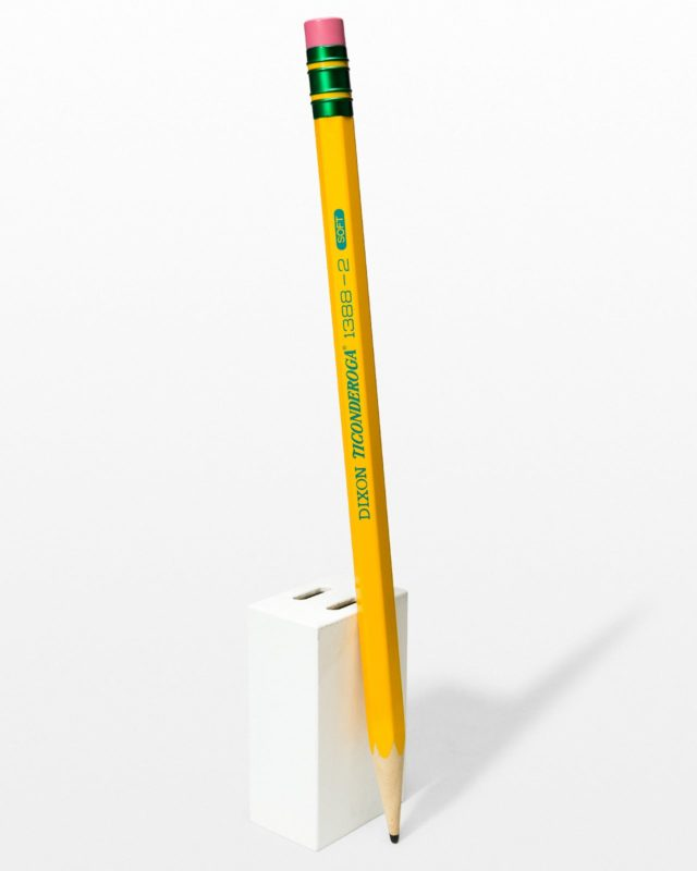 Front view of Oversized Pencil