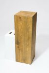 "Alternate view thumbnail 2 of Bow 35.5"" Reclaimed Wood Pedestal"