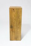 "Alternate view thumbnail 3 of Bow 35.5"" Reclaimed Wood Pedestal"