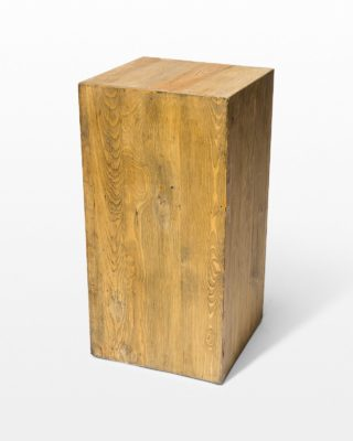 Alternate view 1 of Bow Reclaimed Wood Pedestal Set