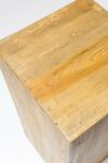 "Alternate view thumbnail 1 of Bow 31.5"" Reclaimed Wood Pedestal"