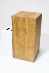 "Alternate view thumbnail 2 of Bow 31.5"" Reclaimed Wood Pedestal"