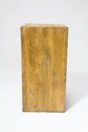 "Alternate view thumbnail 3 of Bow 31.5"" Reclaimed Wood Pedestal"