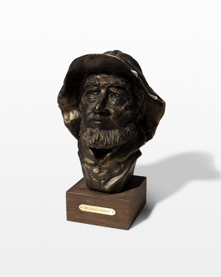 Front view of Wake Fisherman Bust