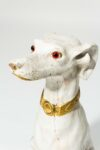 Alternate view thumbnail 1 of Fido White Dog Sculpture