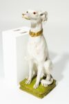 Alternate view thumbnail 2 of Fido White Dog Sculpture