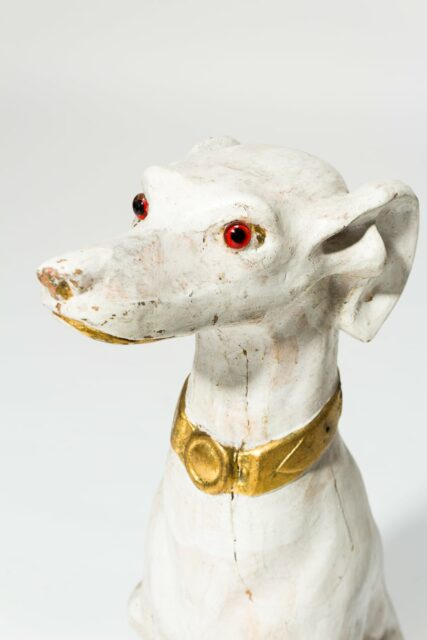 Alternate view 1 of Fido White Dog Sculpture