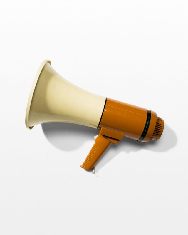 Front view of Shout Megaphone