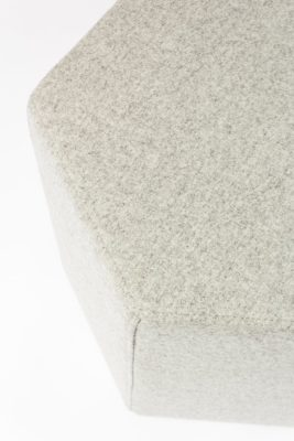 Alternate view 3 of Breyer Felt Wool Ottoman