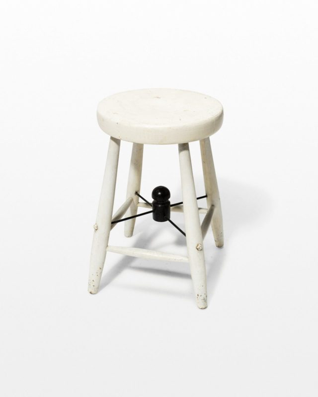 Front view of Margot Low Stool