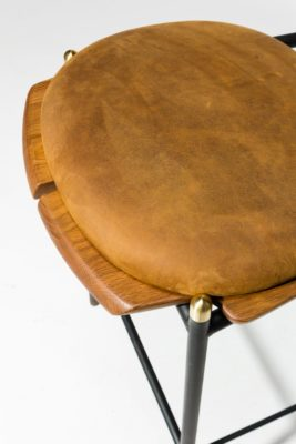 Alternate view 1 of Chadwick Oak and Leather Stool