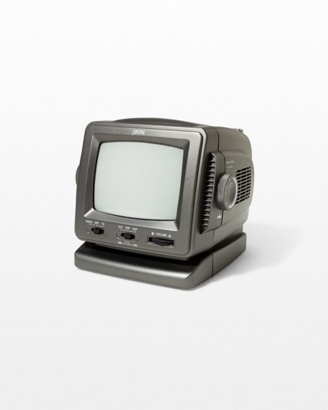 Front view of Edie Portable Television