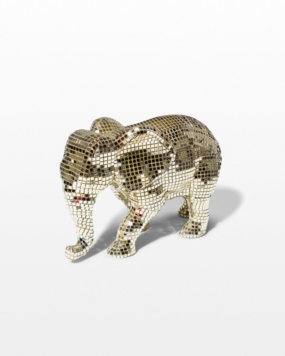 Front view of Disco Elephant