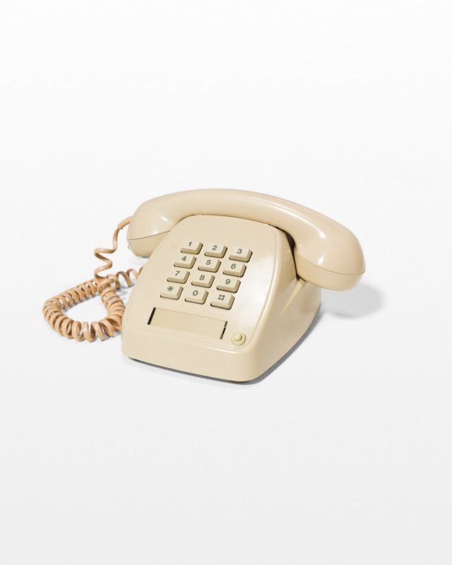 Front view of Soren Beige Phone